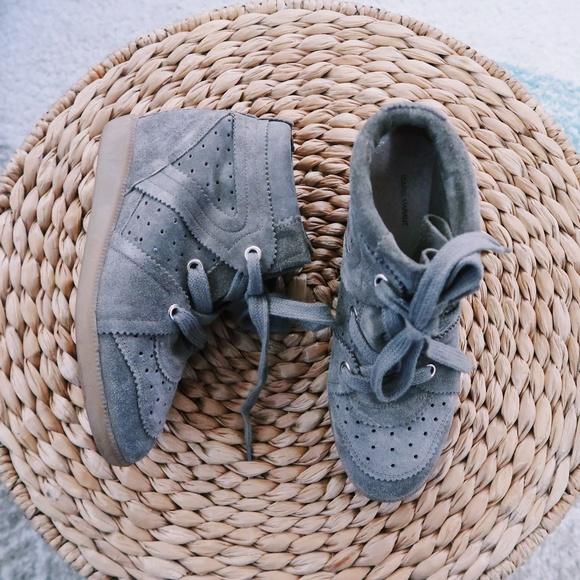 f55cbc7171 Isabel Marant Shoes - Isabel Marant Bobby Sneakers - GREY US 10
